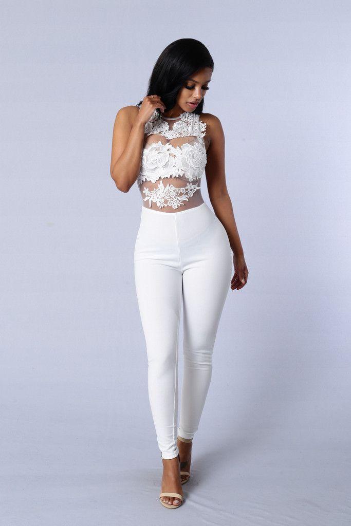 Sweet Revenge Jumpsuit - White | Fashion Nova