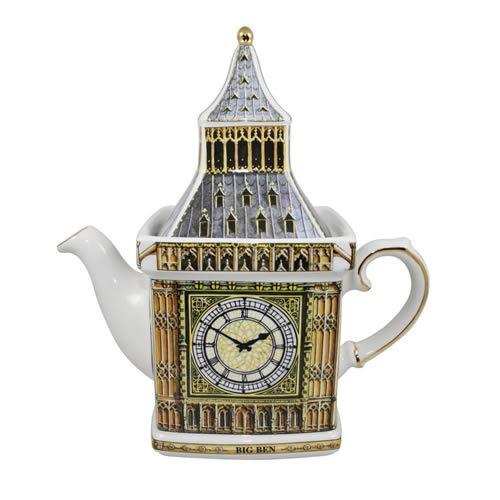 James Sadler Monument London's Big Ben Teapot