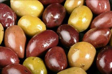 Homemade olives