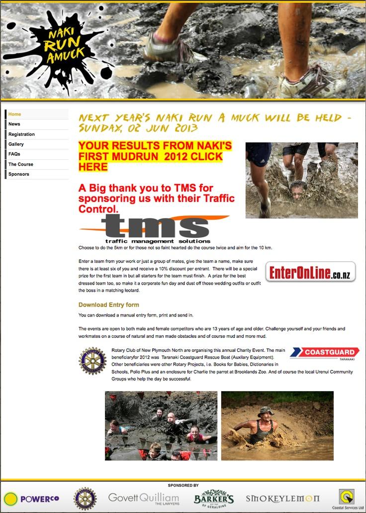 Naki Run Amuk annual 10km mud race challenge!