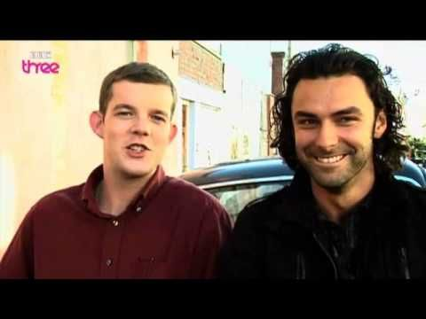 The Boys Are Back In Town - Being Human Series 2 Behind The Scenes. @Sara VanHauen This is so funny! One of my faves between the two lol