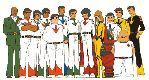 Star Blazers! (aka Space Cruiser Yamato) I remember RUNNING home from school so I wouldn't miss it!