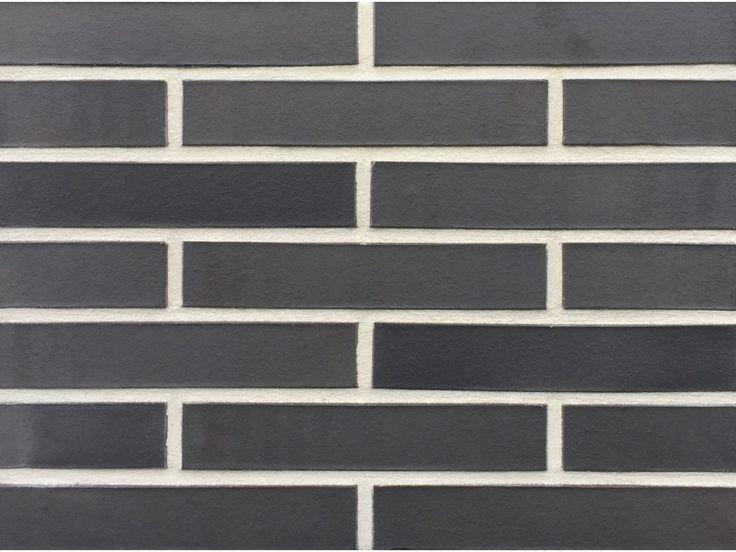 Verblender / Klinker Verblender K510-LDF / Klinker / Fassade / Muster / Tafel / anthrazit nuanciert