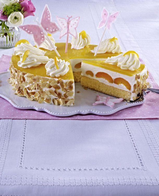 Unser beliebtes Rezept für Frühlingshafte Aprikosen-Joghurt-Torte und mehr als 55.000 weitere kostenlose Rezepte auf LECKER.de.
