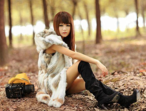 Furfox レディース ラビットファー フード付け ナチュラルイエロー 毛皮 ロング丈 ベスト チョッキ (L) Furfox http://www.amazon.co.jp/dp/B00LWQF3BC/ref=cm_sw_r_pi_dp_VoVfub1PXMVDR