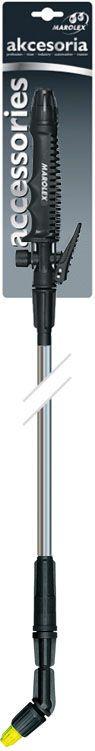Телескопическая штанга 135 см с рукояткой подходит ко всем помповым и ранцевым опрыскивателям Marolex.        Также совместима с опрыскивателями других производителей – использована стандартная резьба 3/8.