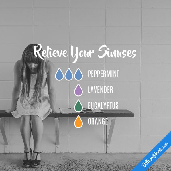 Relieve Your Sinuses - Essential Oil Diffuser Blend