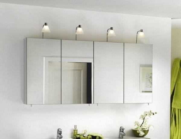 Spiegelschrank bad landhaus  Die 25+ besten Badezimmer spiegelschrank mit beleuchtung Ideen auf ...