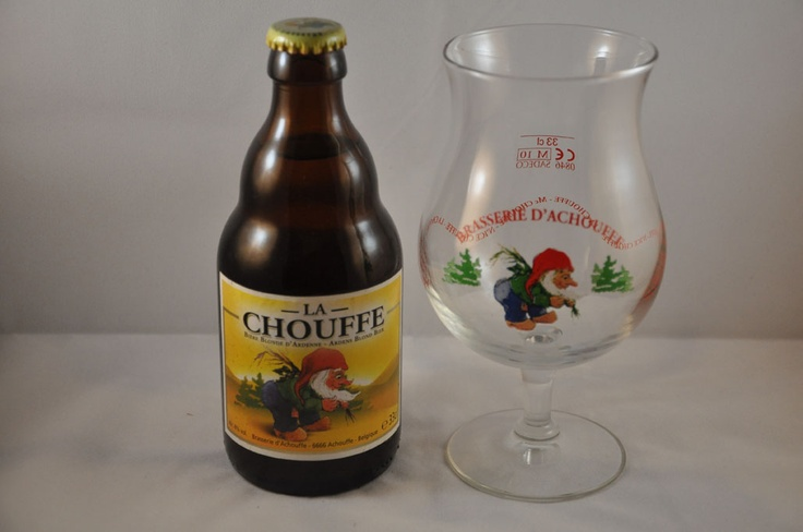 La Chouffe is also a blonde Belgian beer, but with 8% alcohol.