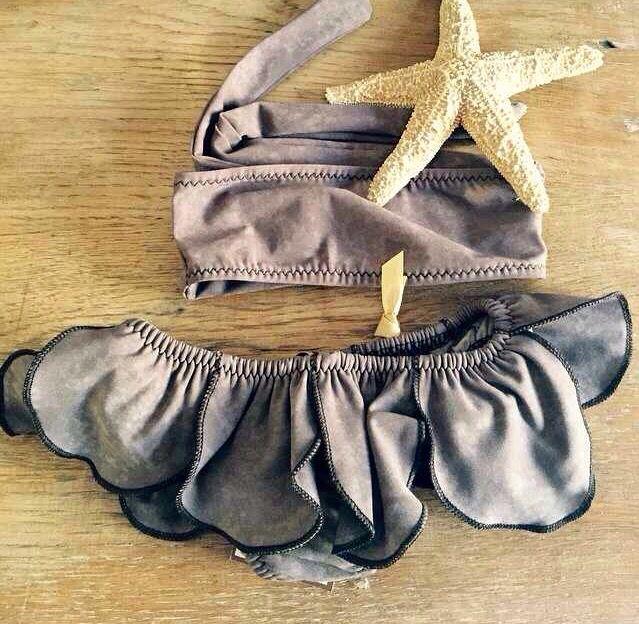 Bikini kid fashion