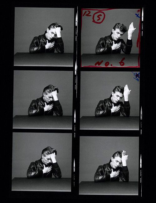 Outtakes from Bowie and Sukita's photoshoot, taken from the CHANGES collection.