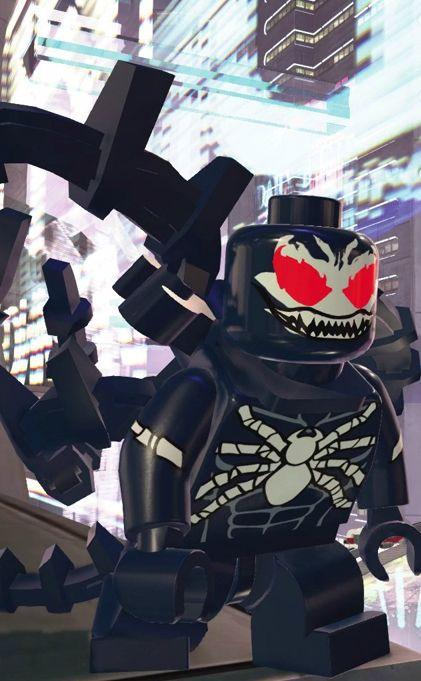 Kron STONE (VENOM) | Earth 13122 | Marvel 2099 | Lego Marvel SUPER HEROES