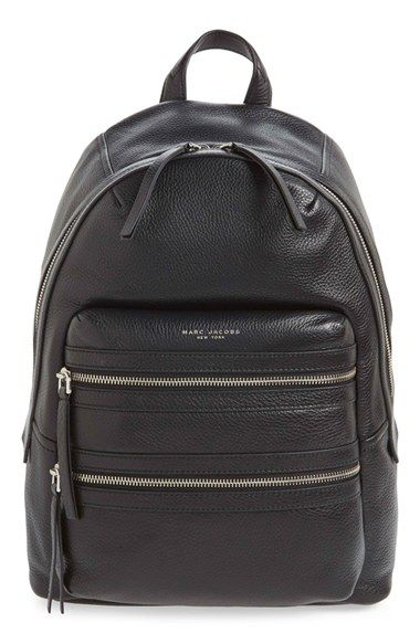 MARC JACOBS 'Biker' Leather Backpack available at #Nordstrom
