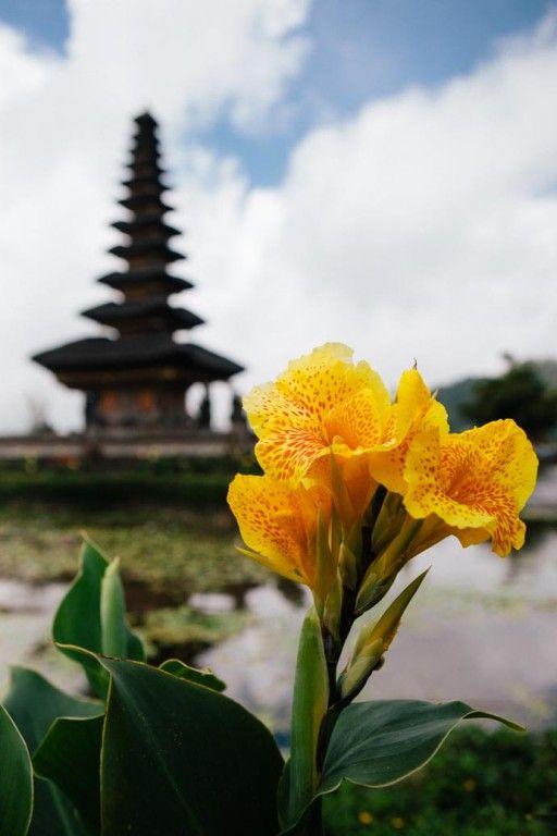 Pura Ulun Danu Temple, Lake Bedugal, Bali, Indonesia - photo by @Victoria Watts