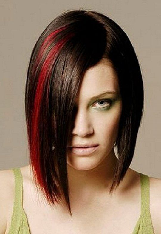 Best Hairstyles Images On Pinterest Hairstyle Ideas Hair - Hairstyles with dark brown and red