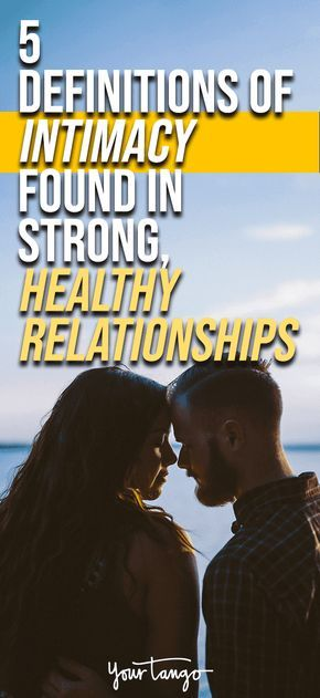 Healthy dating definition