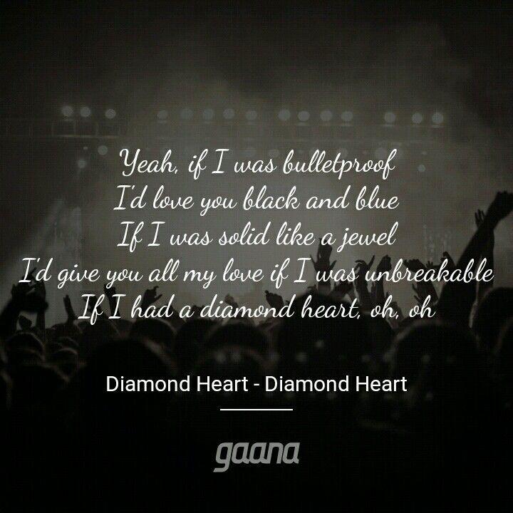 Diamond Heart With Images Diamond Heart Alan Walker My Love