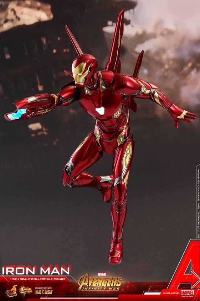 Hot Toys 16 Action Figureavengers Infinity Warironman Mark 50