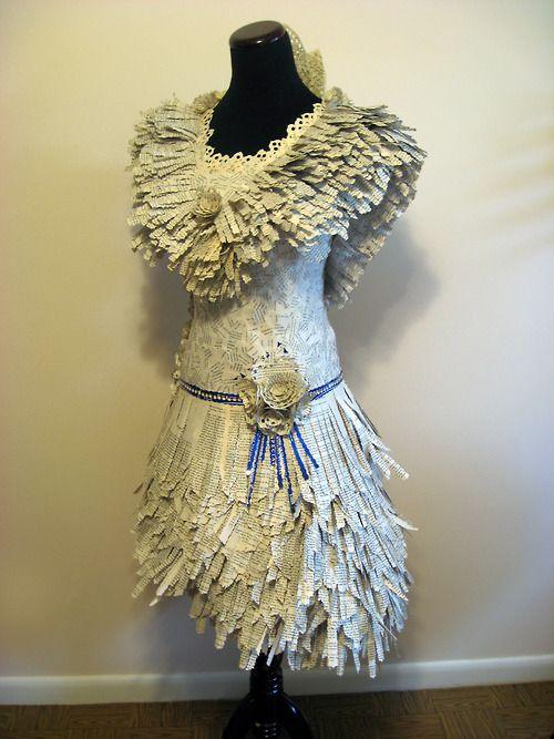 Robe papier - Carrie Ann Schumacher
