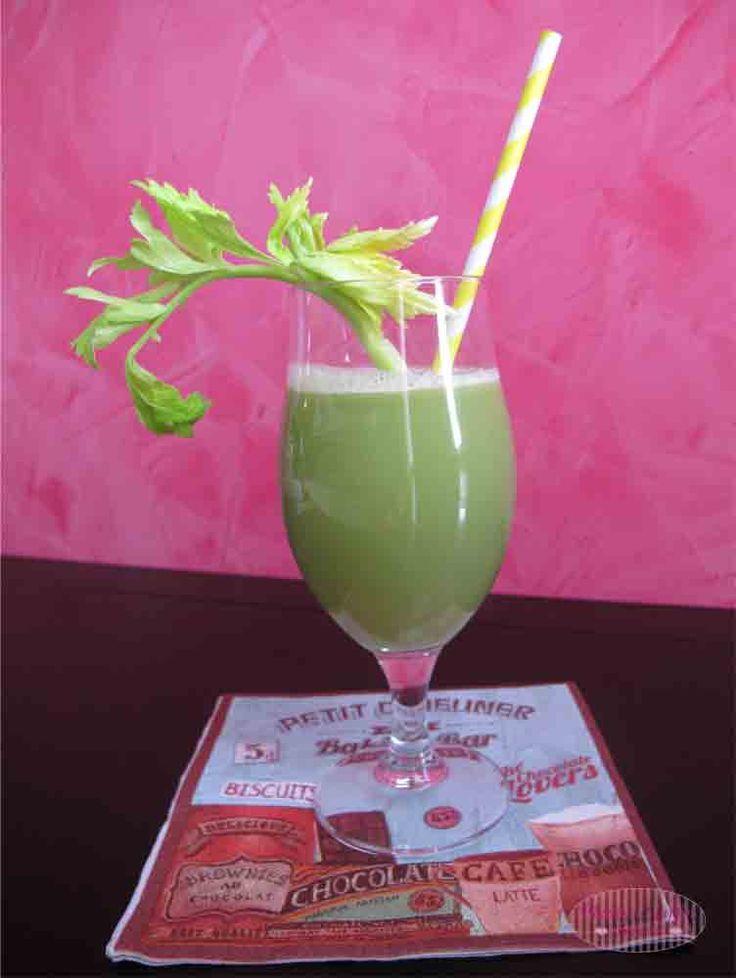 Green Detox Drink: Centrifugato di sedano, finocchio e mela!