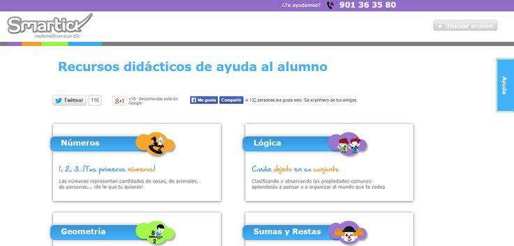 Smartic matematicas, recursos pdi, pizarra digital, digital board resources, español