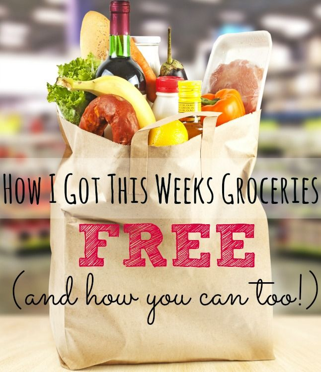Spending too much on groceries? Not me! I just bought a week's worth of REAL food for FREE! Wanna know how? I'm about to tell you...