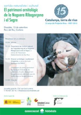 El patrimoni ornitològic de la Noguera Ribagorçana i el Segre http://www.projecterius.org/arxius/15setembre_cat.pdf