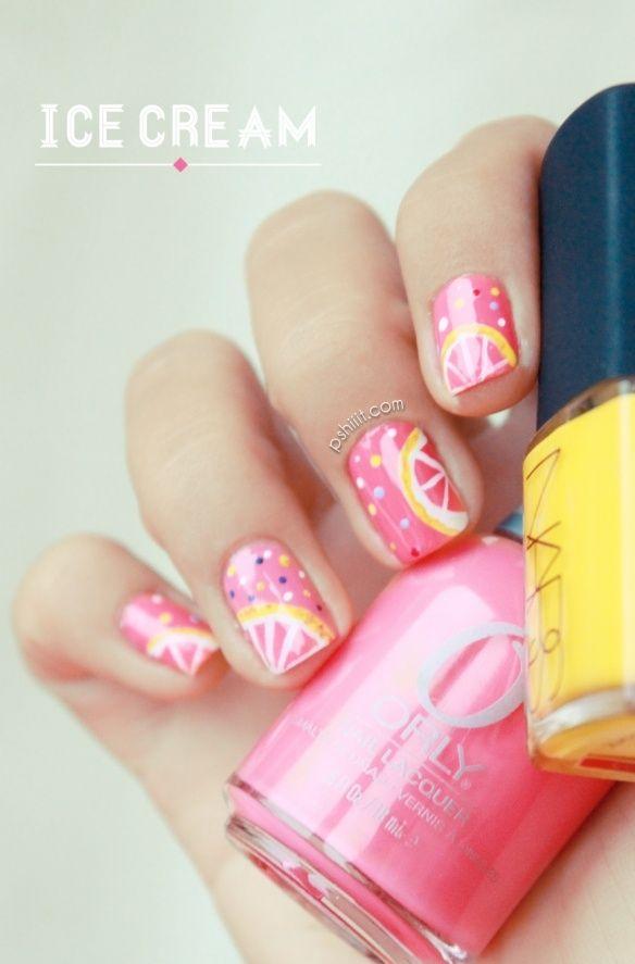 Cute nail design :)