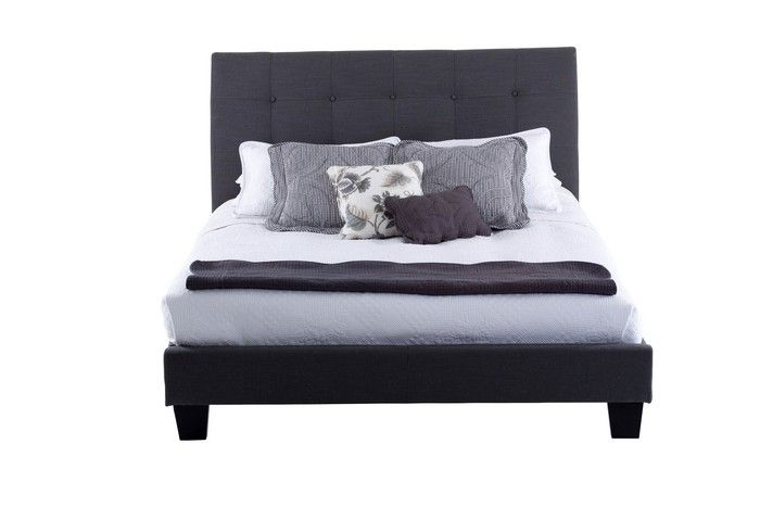 Chantelle King Bed Grey - Products - 1825 Interiors at Crossroads Homemaker Centre