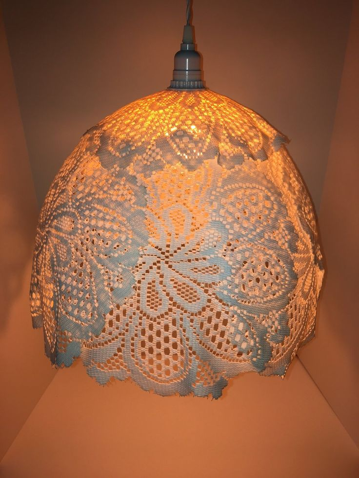 Maximum Living Doily Lamp