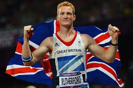 Greg Rutherford, yes please!