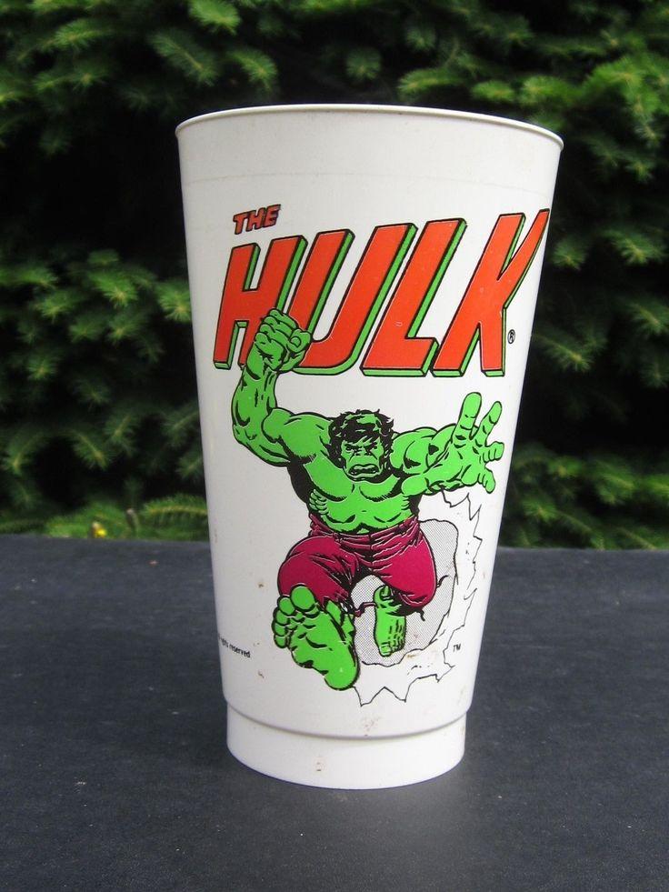 Hulk - Vintage Marvel Slurpee Cup - Rare!