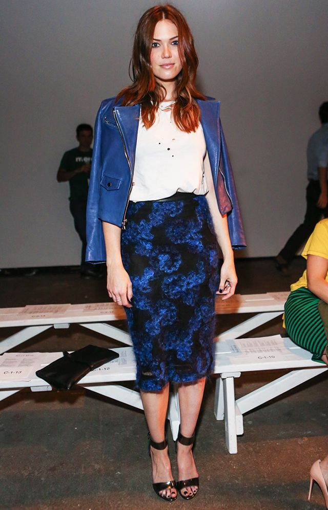 Mandy Moore Styled by Emily + Meritt