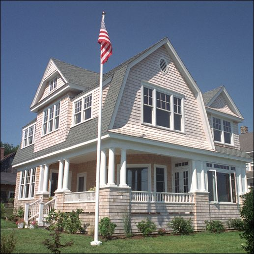 44 best images about gambrel on pinterest dutch colonial for Gambrel house designs