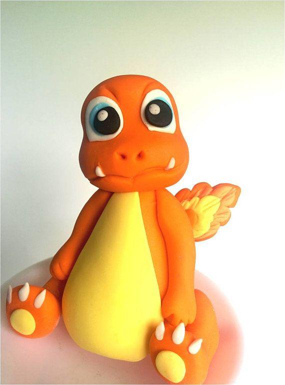 Hey, I found this really awesome Etsy listing at https://www.etsy.com/listing/459215270/pokemon-charmander-fondant-cake-topper