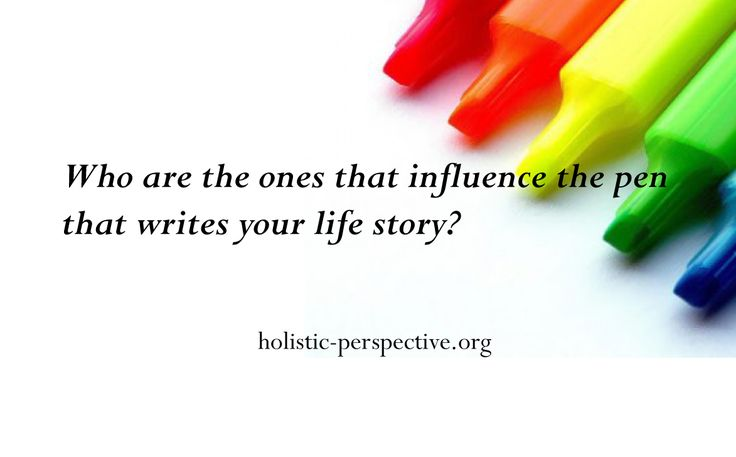 Theory of Holistic Perspective | Write life story