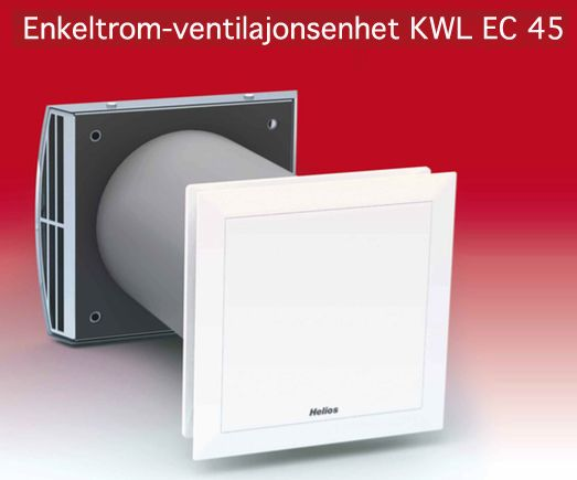 Helios ventilasjon | Desentral ventilasjon
