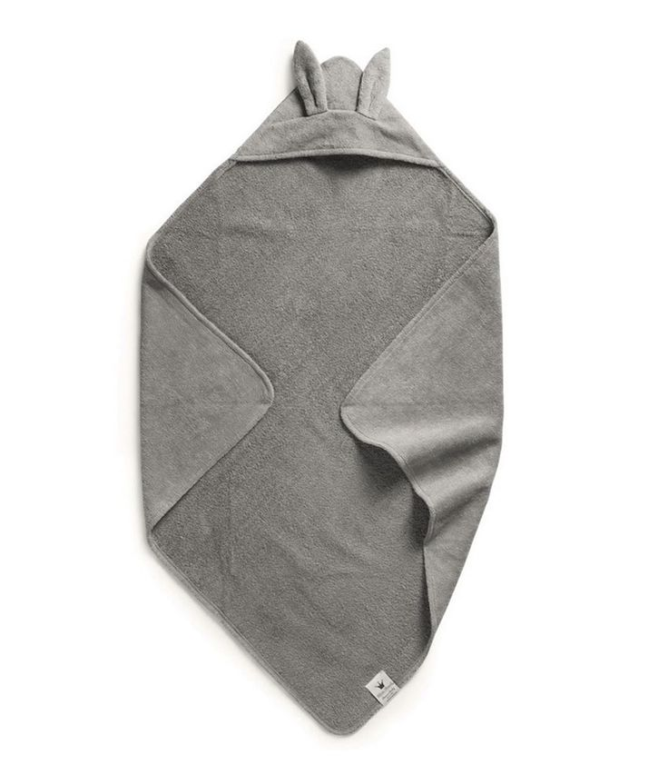 Köp Hooded Towel - Marble Grey -  hos Elodie Details Officiella Webbshop. Elodiedetails.com - Big differences for small  Ani rabbit lapin S17