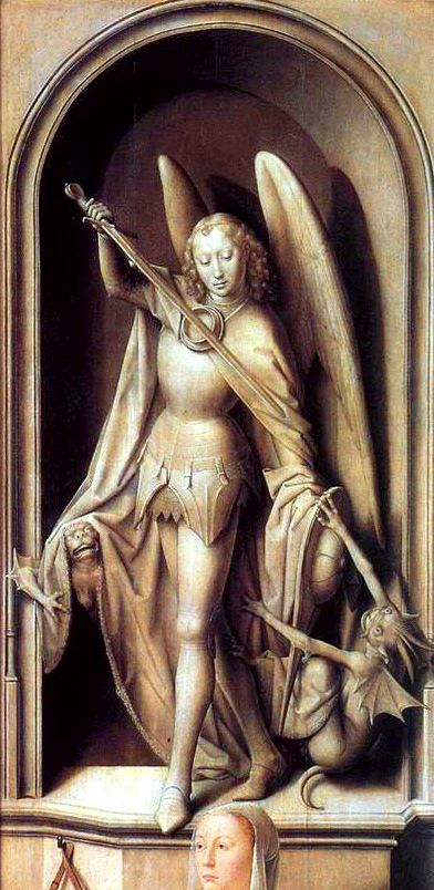 Archange Gabriel - Memling Sąd Ostateczny