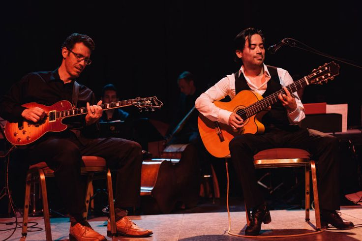 Tony di Gregorio and Joel Hanna. Photo by Allison Kuhl. Playing at Night Cap: A Tap Dance Concert