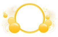 Lenagold - Клипарт - Желтые и оранжевые круги и шары 2