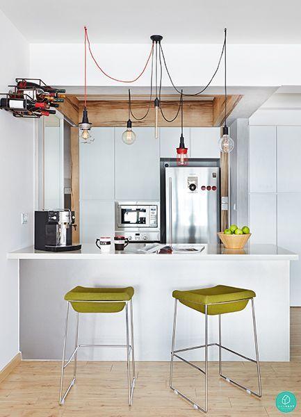 Images Of A  X  Kitchen With Counter Bar