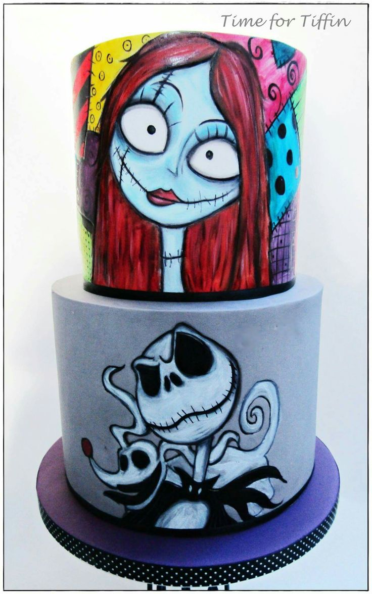 ❥The Nightmare Before Christmas | Cake
