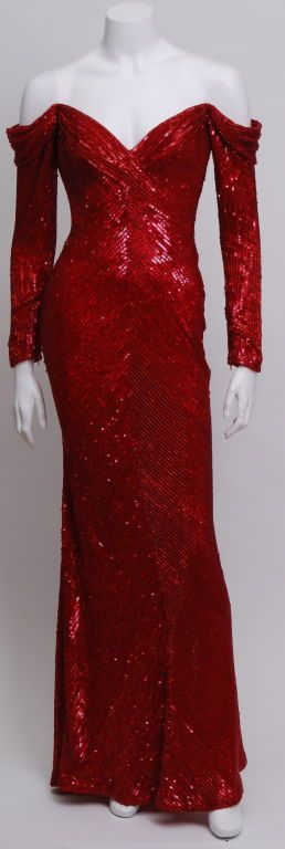 1stdibs |Gown by Bob Mackie (worn by Cher, Christie Brinkley and Anjelica Huston).