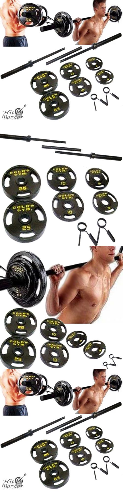 Barbells and Attachments 137864: Olympic Weight Set 110 Lb Plates Barbell Workout Gym Lifting Fitness Equipment -> BUY IT NOW ONLY: $118.96 on eBay!