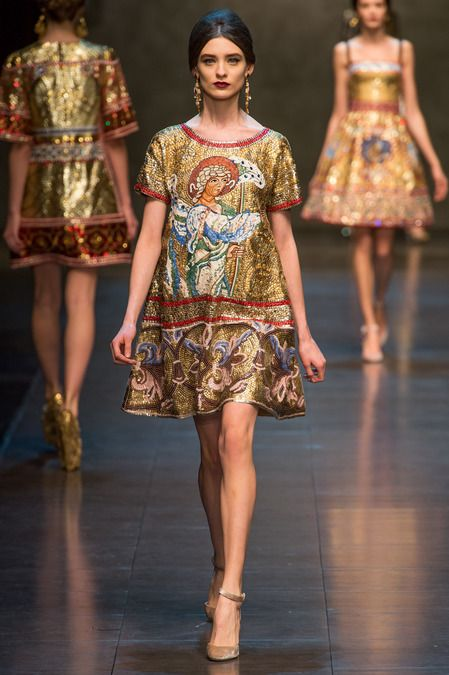 #nudepumps #love Dolce & Gabbana | Fall 2013 Ready-to-Wear Collection | Style.com