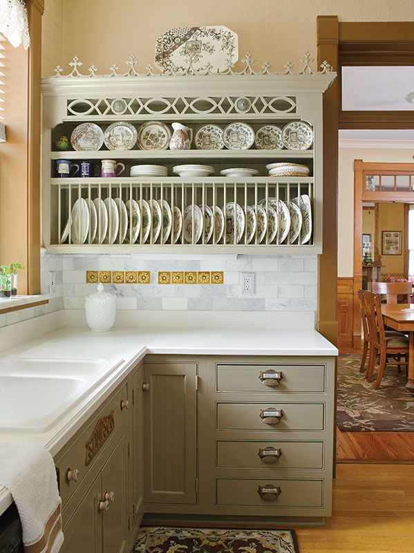 A kitchen overflowing with details.