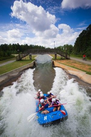 Worlds largest man made white water river, in Charlotte, NC.... US National White Water Center with the booski.