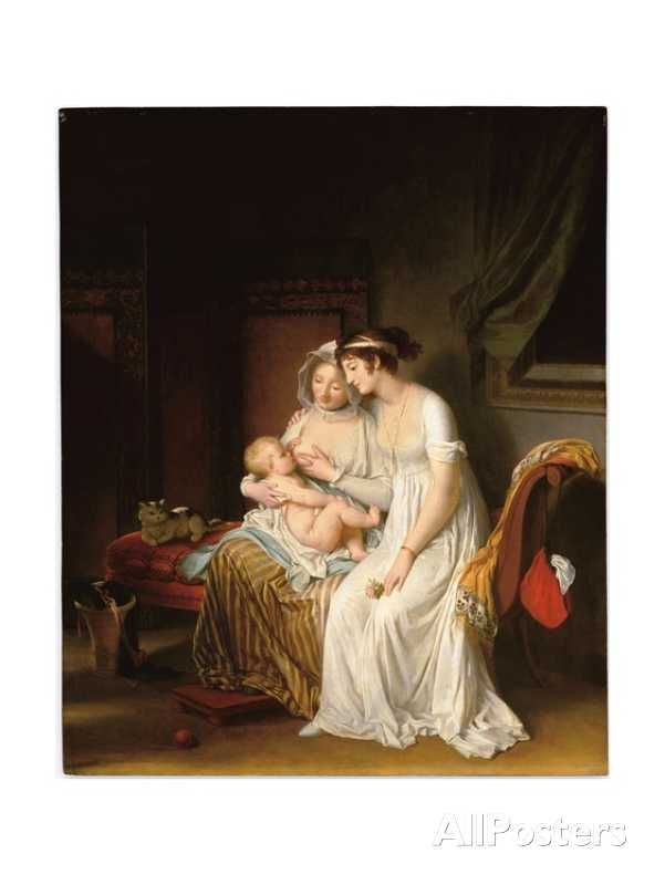 The Wet Nurse, C.1802 Giclee Print by Marguerite Gerard at AllPosters.com