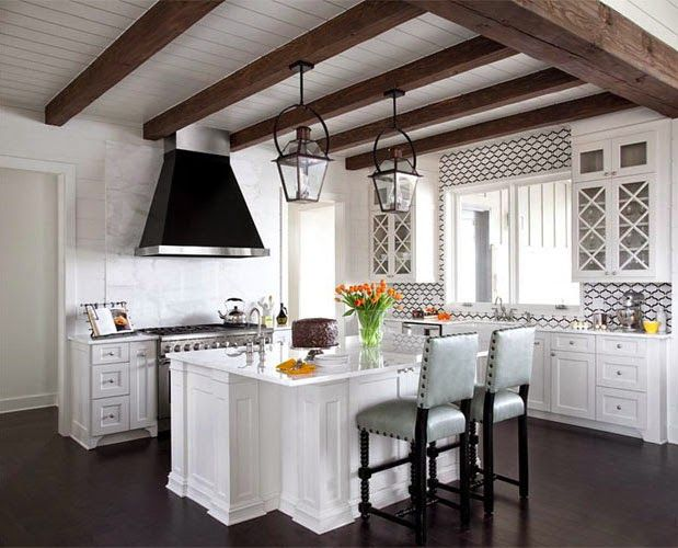 COCOCOZY: MODERN V. TRADITIONAL KITCHEN - THIS OR THAT Lights above nook or island
